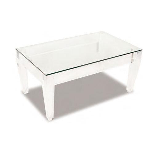 moss studio, moss home, ice-rectangle coffee table, end table