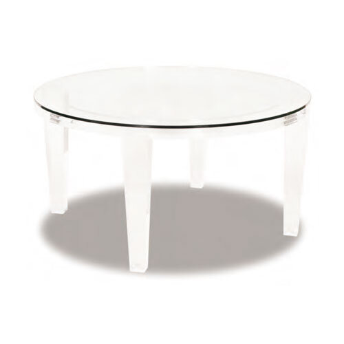 moss studio, moss home, ice-round coffee table, end table