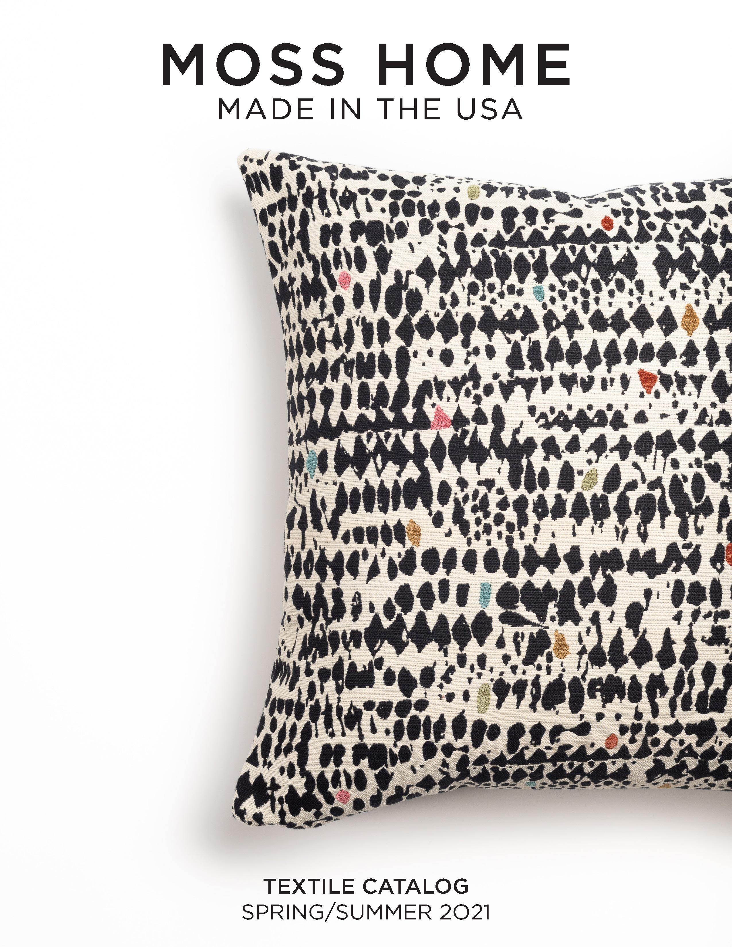 moss home textile catalog