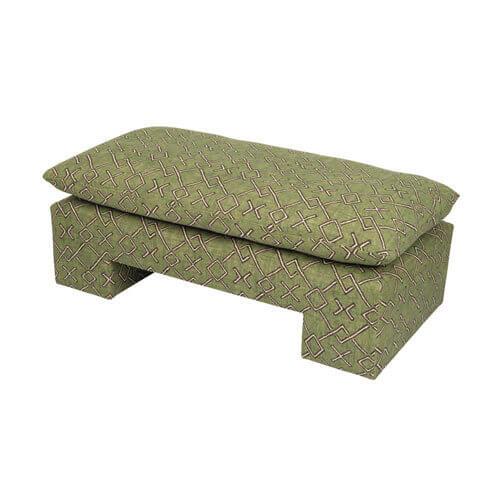 moss studio, moss home, drex ottoman bench